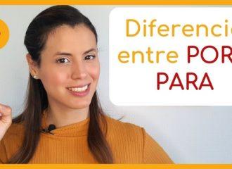 Por y Para en Español - Tips para hacer la diferencia